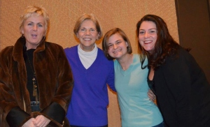 Cath O'Neill and Sen Warren