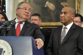 1 Speaker DeLeo and Gov Patrick