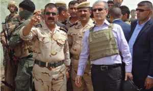 1 Kurdish fighters retake Kirkuk