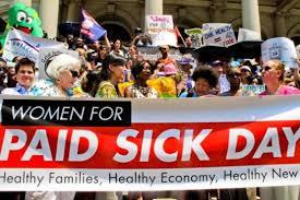 1 paid sick leave