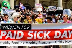 1 paid sick leave