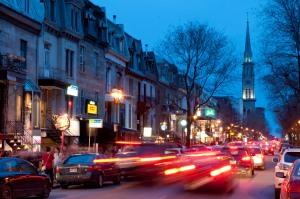 Rue Saint-Denis, Latin Quarter, Montreal