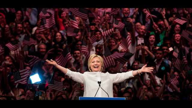 BESTPIX - Hillary Clinton Holds Primary Night Event In Brooklyn, New York
