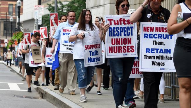 Tufts nurses