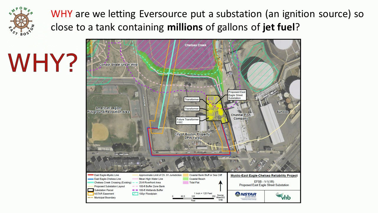 Should East Boston Accept Eversources Proposed Substation Here Condor Wiring Diagram And Sphere