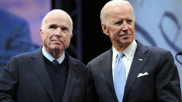 Biden and Mccain