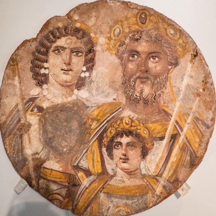 Portrait of the family of Septimius Severus